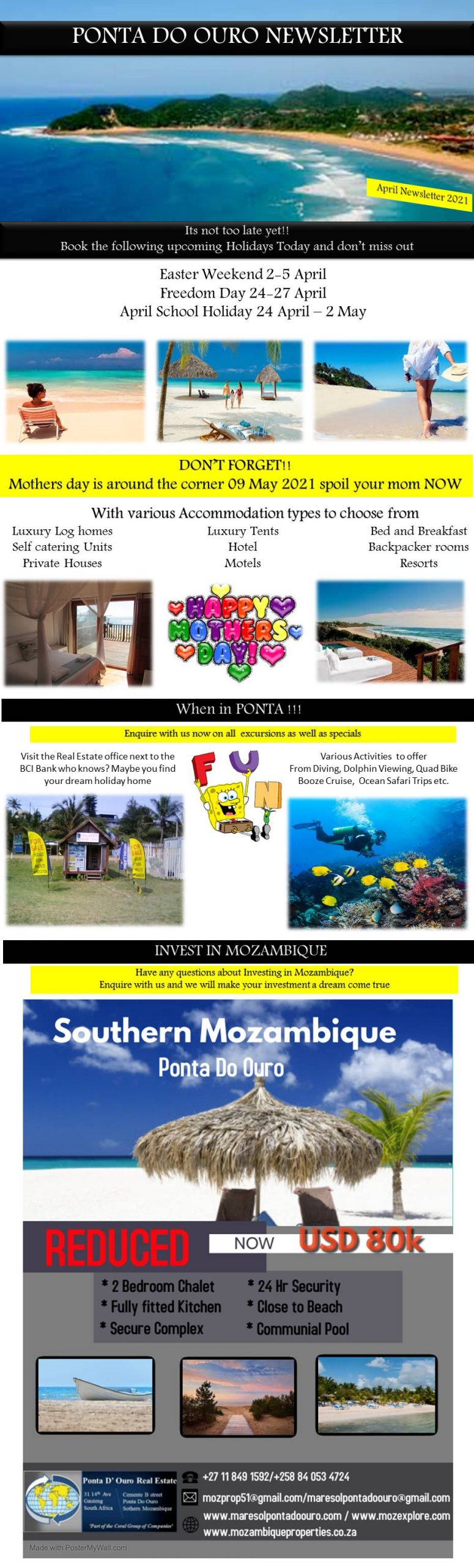 Ponta Do Ouro Newsletter
