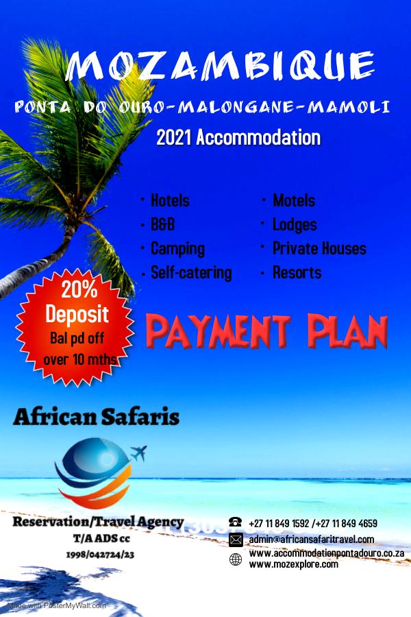 Mozambique Holiday Accommodation - Holiday Specials Mozambique Holiday Accommodation - Holiday Specials