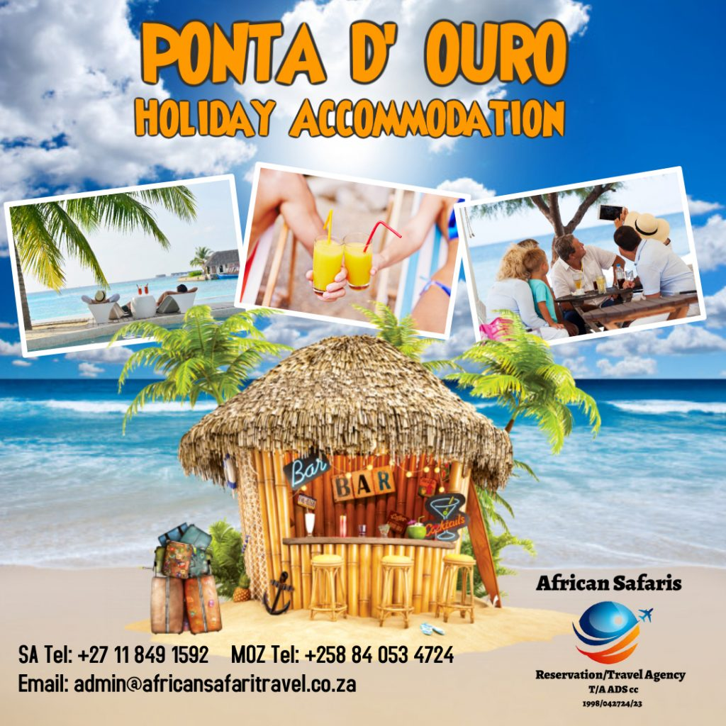 Ponta D Ouro Holiday Acc adv - Made with PosterMyWall