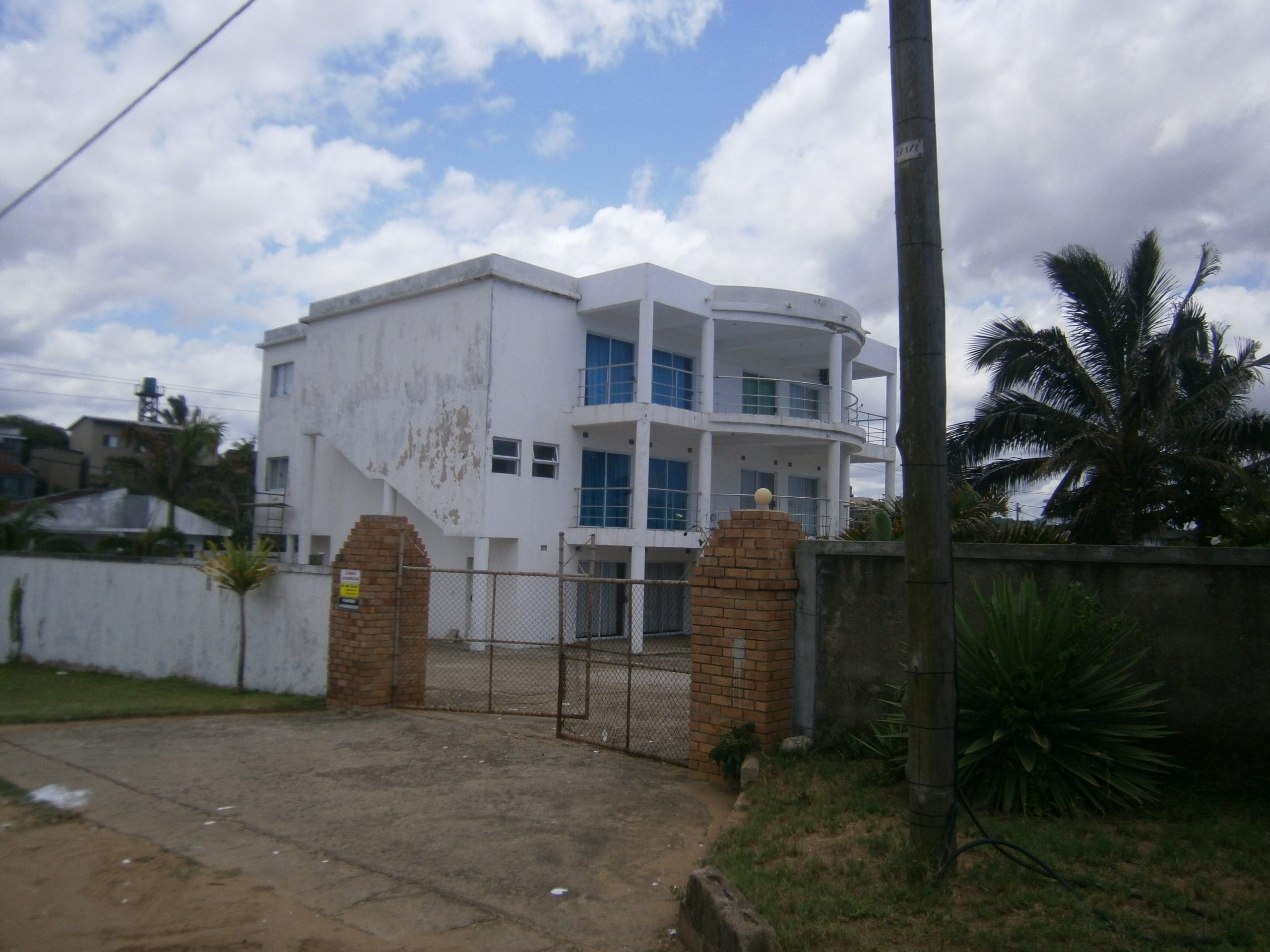 Triple story house